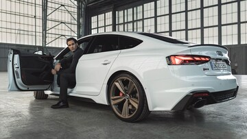 Audi RS 5 Sportback Open Door Man - Audi Australia